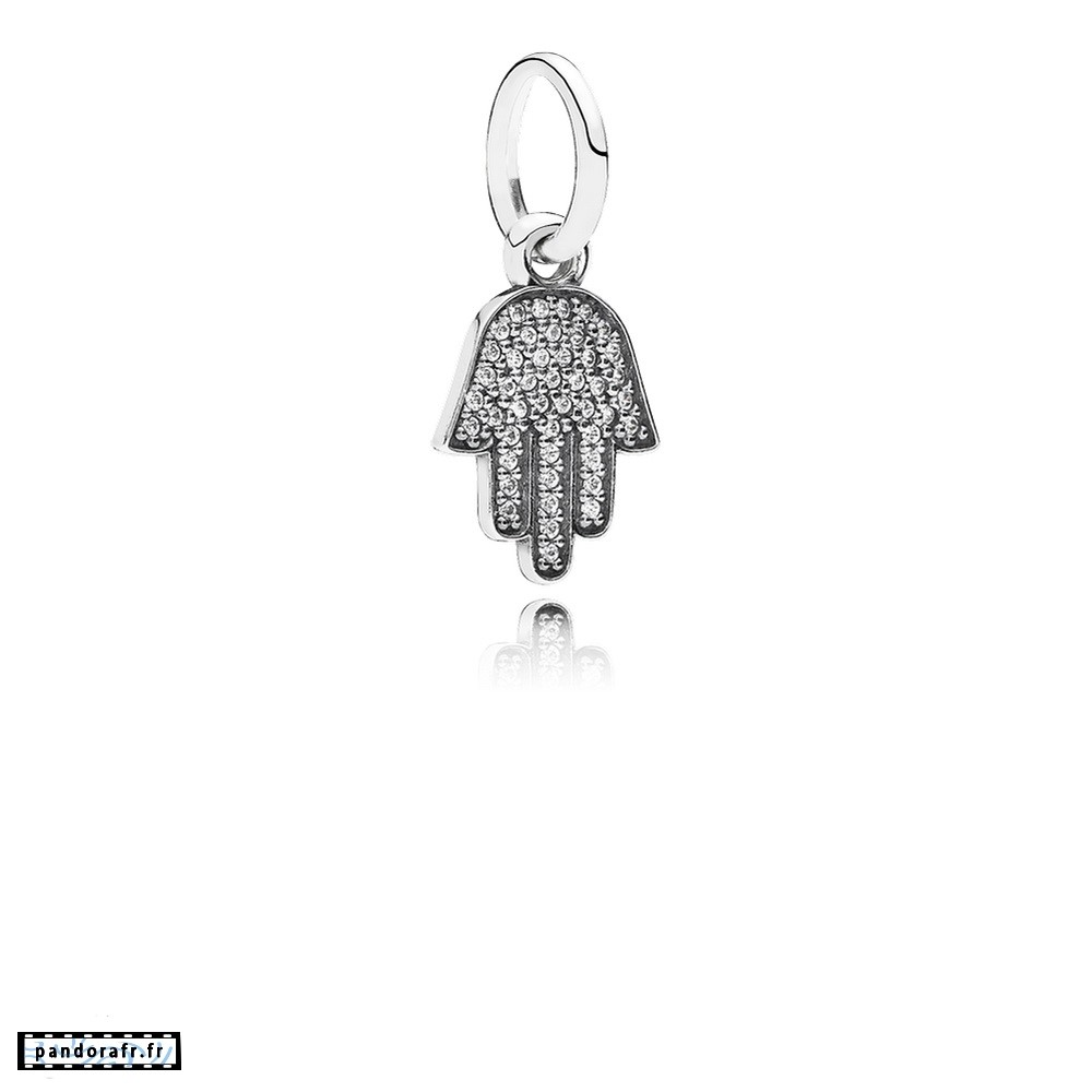Bijoux Pas Cher Pandora Alphabet Symboles Charms Symbole De Protection Dangle Charm Clear Cz