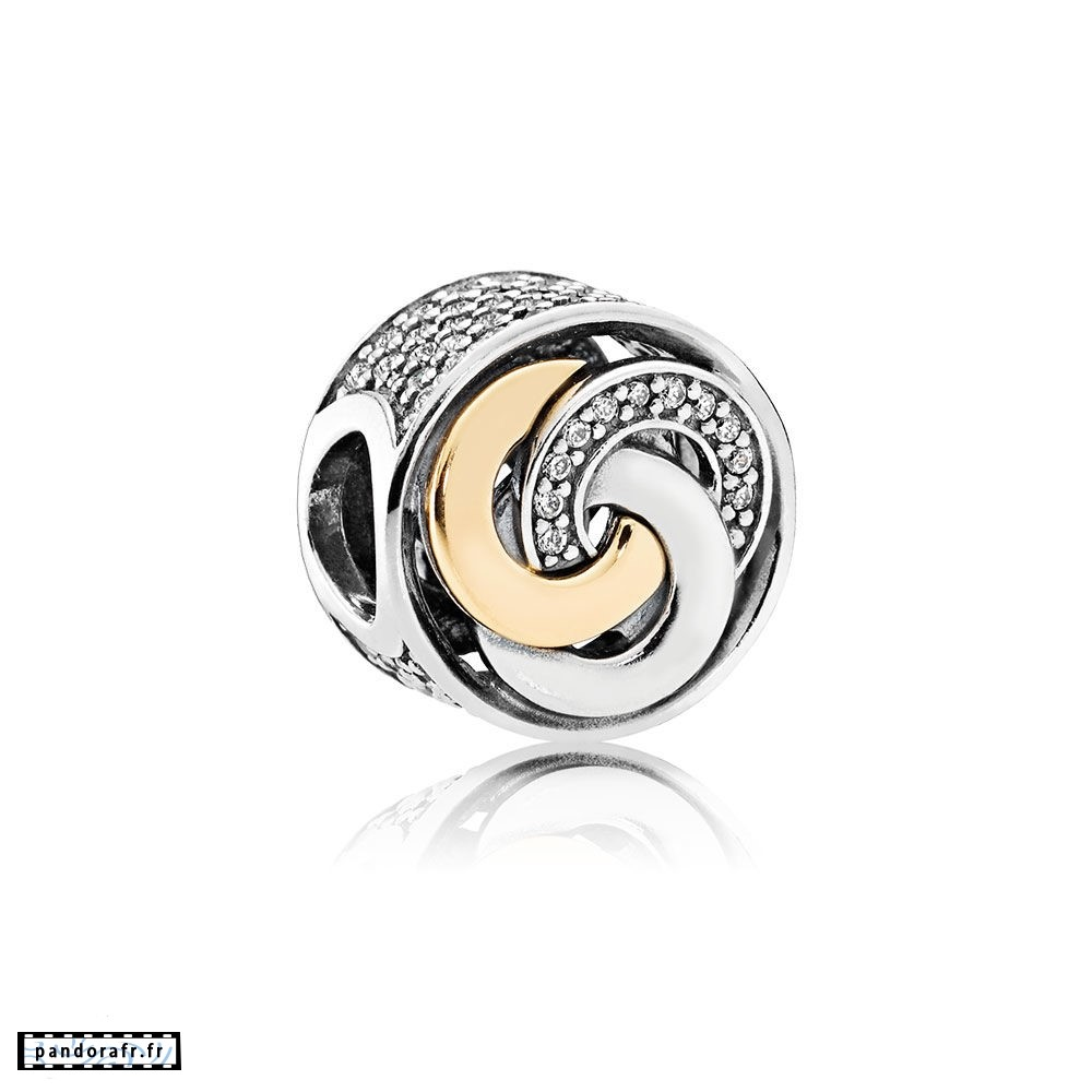 Bijoux Pas Cher Charms Contemporains Cercles Inter Charme Clear Cz